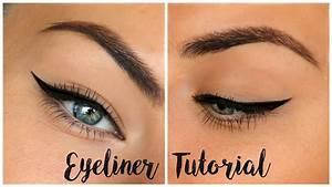 Winged Eyeliner Tutorial For Hooded Eyes  U2661 My Tips
