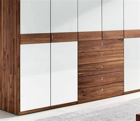 Solid Wood Wardrobes by Luxury Contemporary Solid Wood Wardrobes Team7 Lunetto