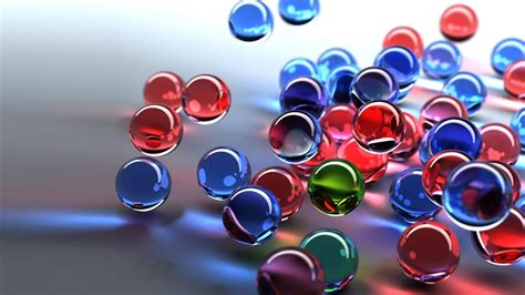 Hd Wallpaper American Flag 3d Glass Balls Red Blue Green Hd Wallpaper 2880x1800 Wallpapers13 Com