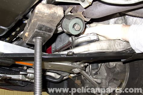 bmw e90 engine mount replacement e91 e92 e93 pelican parts diy maintenance article