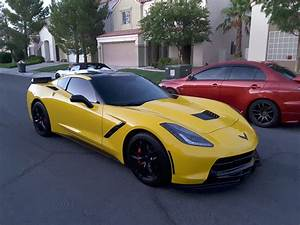 2015 Yellow Corvette C7 A8 CorvetteForum Chevrolet