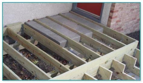 composite decking  concrete steps home improvement