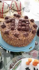 Kuchen 18 Geburtstag : eine bueno torte zum 18 geburtstag kuchen nachgebacken pinterest ~ Frokenaadalensverden.com Haus und Dekorationen