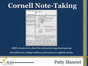 cornell notes pueblo high school authorstream With cornell notes powerpoint template