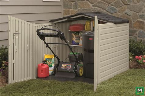 snowblower shed store your snow blower lawn mower and more in the