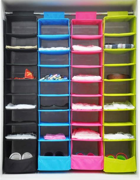 ikea style washable color organizer collection hanging