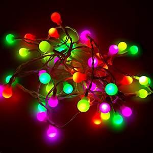 Led Lichterkette Draußen : lichterkette fluo f r drinnen und drau en 490cm 48 led ~ Watch28wear.com Haus und Dekorationen