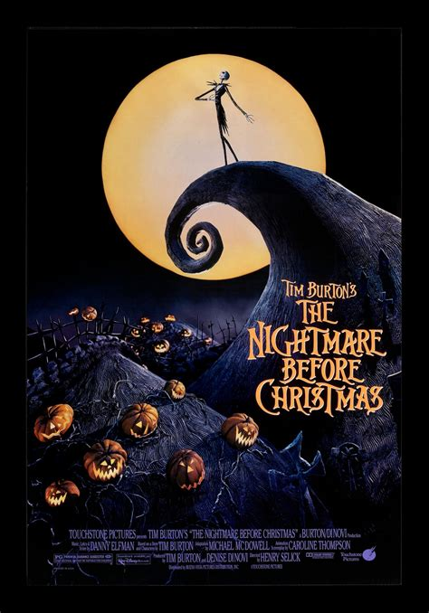 Halloween Town 1 Cast by Nightmare Before Christmas Cinemasterpieces 1sh Ds