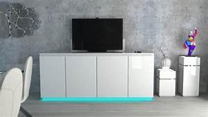 Meuble Tv Buffet : bahut avec ascenseur tv buffet elevateur tv niel ~ Teatrodelosmanantiales.com Idées de Décoration