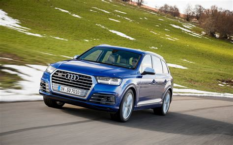 2018 Audi Sq7 Tdi The Most Powerful Of All Diesel Suvs
