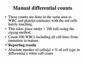 Peripheral Blood Smear Examination