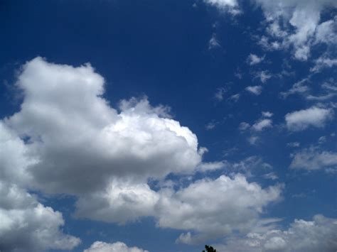 Fluffy Clouds Free Stock Photo - Public Domain Pictures