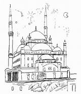Mosque Coloring Palais Dessin Pages Palace Drawing Buildings Aladin Architecture Et Des Du Une Getdrawings Drawings Mille Nuits sketch template
