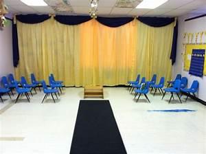 Backdrop for Preschool Graduation at Macomb Learning ...