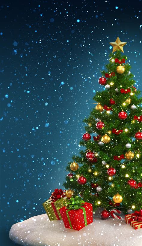 christmas wallpapers ios 11 trees backgrounds 59 images
