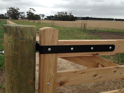 Wood Fence Gate Hardware, New, Free