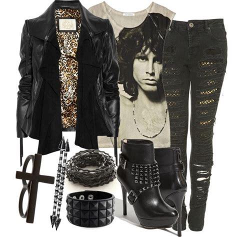 Best 25+ Rocker girl fashion ideas on Pinterest   Girls black leather jacket Girls black jeans ...