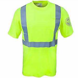DSNY Sanitation Yellow High Visibility Work Short Sleeve Shirt