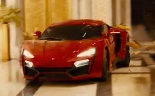 Fast Furious 7 Cars