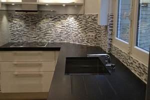 Plan De Travail Granit : plan de travail granit pour votre cuisine et salle de bain ~ Dailycaller-alerts.com Idées de Décoration