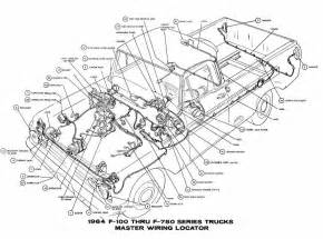 similiar ford truck parts breakdown keywords ford f 100 through f 750 trucks 1964 master wiring diagram all about