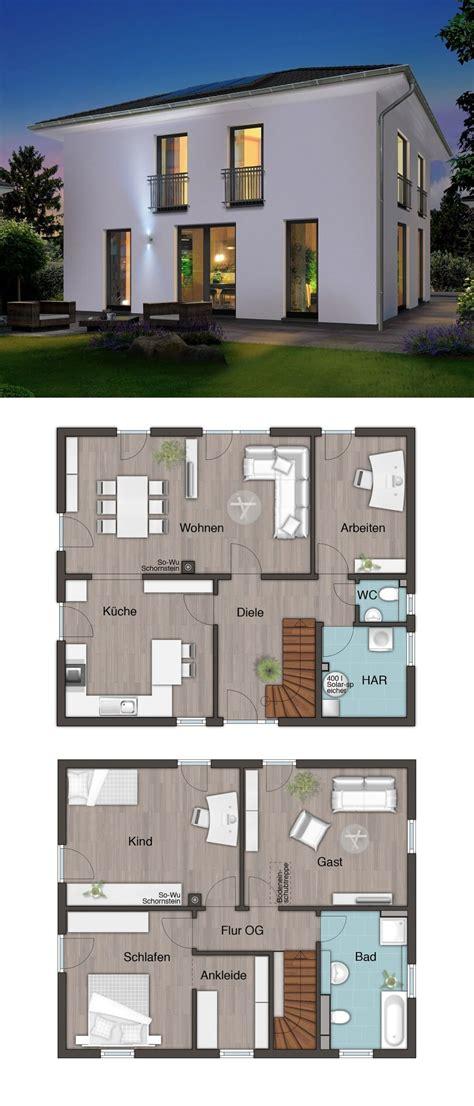 Stadtvilla Moderne Architektur Grundriss by Moderne Stadtvilla Neubau Mit Walmdach Architektur