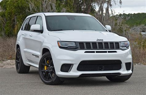 trackhawk jeep srt 2018 jeep grand cherokee srt trackhawk review test drive