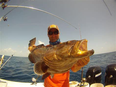 grouper fishing largo key fish florida team fly keys addiction