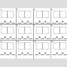 Domino Math Worksheet By El Tesoro Del Saber  Teachers Pay Teachers