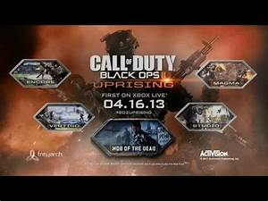 BO2 Uprising DLC Map Pack Preview Trailer Official