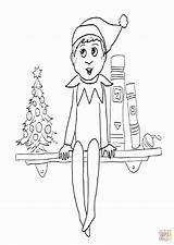 Coloring Elf Shelf Clipart Library Popular Clip sketch template