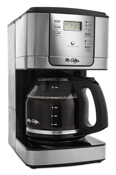 Coffee machines all departments alexa skills amazon devices amazon global store apps & games audible audiobooks automotive baby beauty books cds & vinyl clothing, shoes & accessories women men girls boys baby. Mr. Coffee 12Cup Programmable Coffee Maker Stainless Steel ...