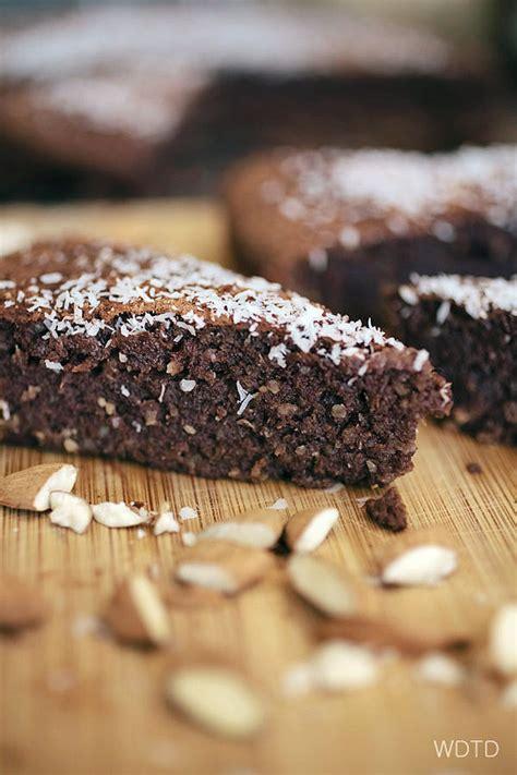 chocolate coconut almond cake gluten  dairy