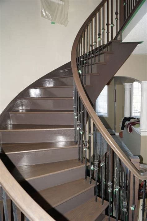 Restaining Hardwood Floors Toronto by Stairs Complete Flooring Toronto And Oakville