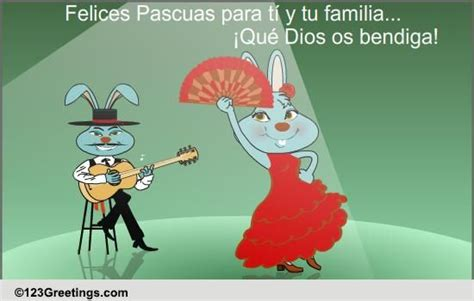 spanish easter ecard  specials ecards greeting