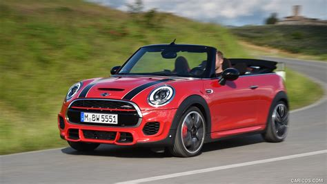 Mini Cooper Convertible Backgrounds by 2017 Mini Convertible Cooper Works Front Hd