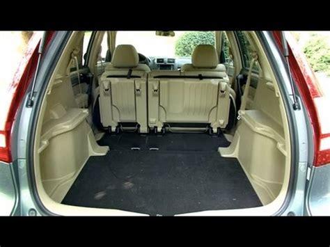 Crv Interior Space by 2010 Honda Crv Cargo Capabilities