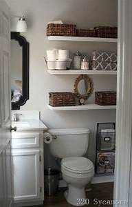 21 floating shelves decorating ideas decoholic With tips to decorate bathroom storage shelves