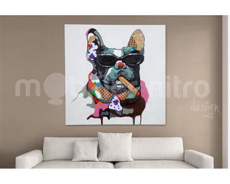 choisir couteau cuisine tableau design bigboss chien peinture à l 39 huile sur toile