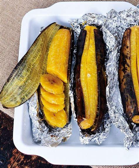 cuisiner le plantain baked plantains recipe le potager potager et cuisiner