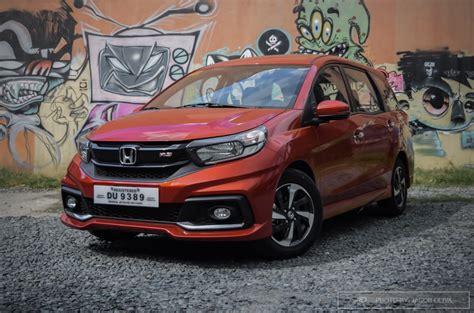 Review Honda Mobilio by Review 2018 Honda Mobilio 1 5 Rs Navi Autodeal Philippines