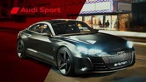 Audi E Tron Gt : edrenaline audi e tron gt concept audi sport youtube ~ Medecine-chirurgie-esthetiques.com Avis de Voitures