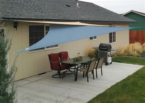 Maybe you would like to learn more about one of these? DIY Shade Sail: Simple, Practical, and Recommended Protection for Outdoor - HomesFeed