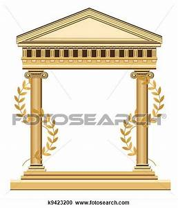 Greek Palace Clipart