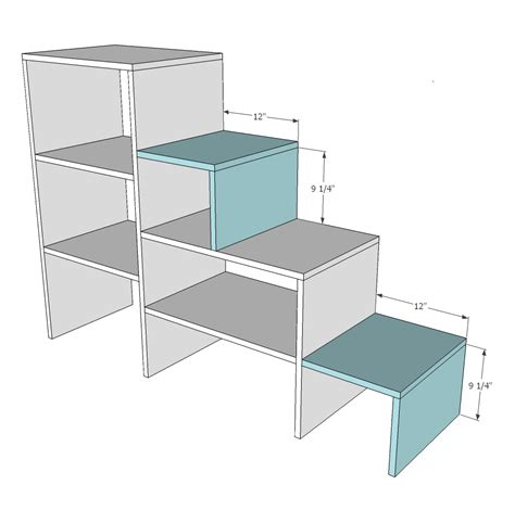 bunk bed plans with stairs diy loft bed with stairs plans woodworking projects
