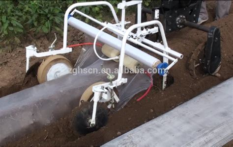 automatic agriculture  walking type plastic mulch