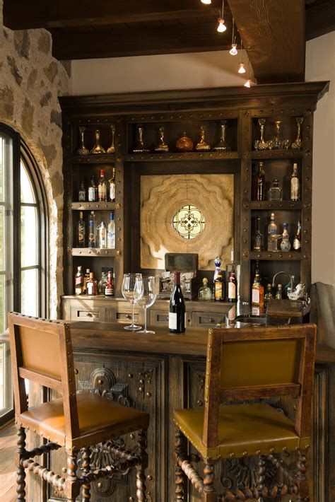 seductive mediterranean home bar designs  leisure
