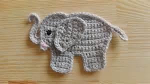 Elephant Applique Crochet Pattern Video Tutorial Free