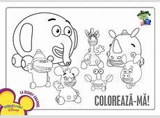 Motoanimalutele Planse de colorat Disney Copilulro