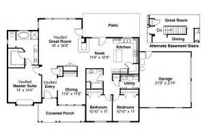 ranch home floor plans ranch house plans alpine 30 043 associated designs